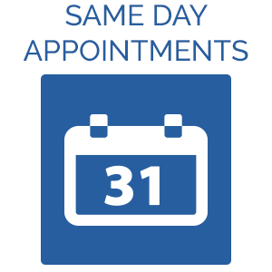 Same Day Appointments