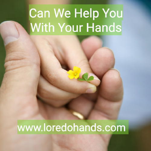 Can We Help You With Your Hands